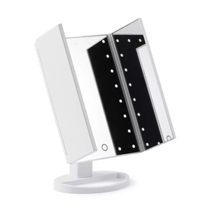 Browgame Cosmetics Tri Folded Lighted Makeup Mirror