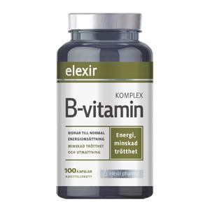 Elexir B-vitamin Kosttillskott